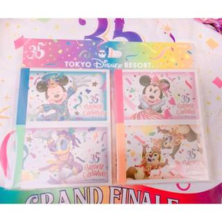 Disney - ディズニー 35周年 メモセット