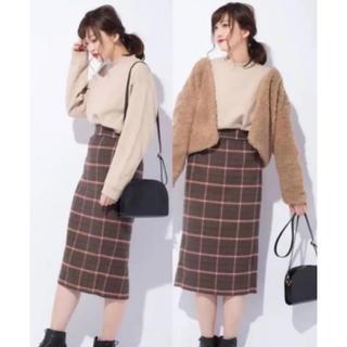 ジーユー(GU)の大人気スカート(ひざ丈スカート)