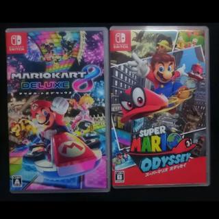 ニンテンドースイッチ(Nintendo Switch)のマリオカート マリオオデッセイ(家庭用ゲームソフト)
