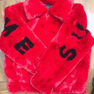 シュプリーム(Supreme)のsupreme 17ss faux fur jacket(その他)