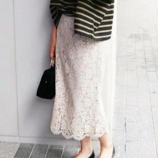 イエナ(IENA)のイエナ レーススカート(ひざ丈スカート)