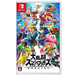 ニンテンドースイッチ(Nintendo Switch)のスマッシュブラザーズ スペシャル(家庭用ゲームソフト)