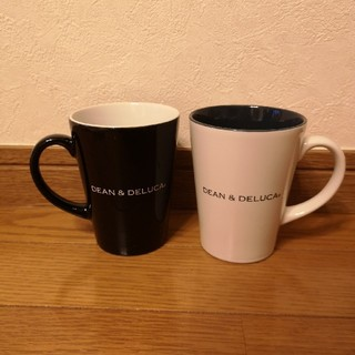 ディーンアンドデルーカ(DEAN & DELUCA)のディーンアンドデルーカのペアマグカップ(グラス/カップ)