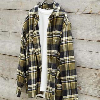 チャオパニックティピー(CIAOPANIC TYPY)のチャオパニックティピー チェックシャツ ネルシャツ L メンズ ヘビーウェイト(シャツ)