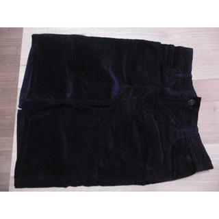 シマムラ(しまむら)の黒スカート(ひざ丈スカート)
