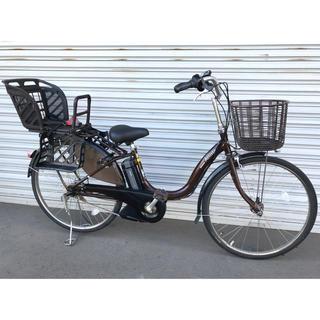 ブリヂストン(BRIDGESTONE)の電動自転車 ブリジストン チャイルドシート付き スペアバッテリー付き☆(自転車)