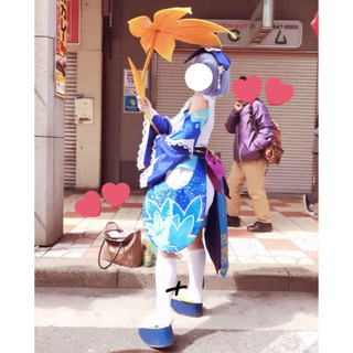 陰陽師 蛍草 秋スキン 武器付き フルセット (一部欠品あり)(衣装一式)