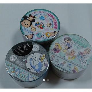 ディズニー(Disney)の可愛い ディズニーツムツム プリンセス アリスのOPPテープ デザインテープ (テープ/マスキングテープ)