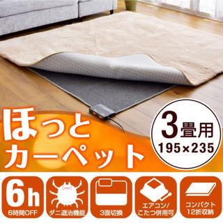 ★お買い得‼︎★あったか★3畳用ホットカーペット