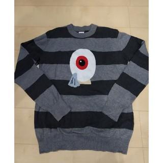 グラニフ(Design Tshirts Store graniph)のグラニフ graniph ゲゲゲの鬼太郎 目玉おやじセーター S(ニット/セーター)