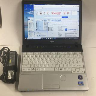 富士通 - 富士通/P771/Win10/12.1型/i5/4G/250G小型軽量薄型/無線