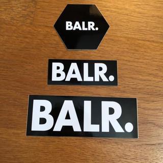 BALR ボーラー ステッカー 3枚セット(シール)