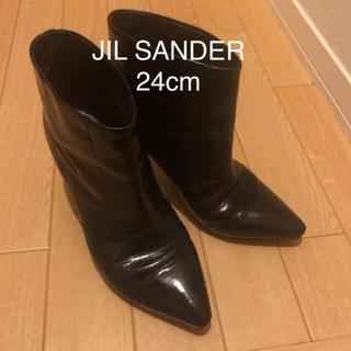 ジルサンダー(Jil Sander)のJIL SANDER ジルサンダーショートブーツ(ブーティ)