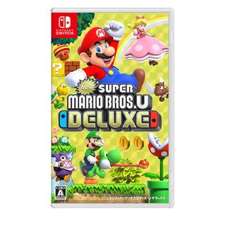 ニンテンドースイッチ(Nintendo Switch)のゆず様専用 new スーパーマリオブラザーズ Uデラックス(家庭用ゲームソフト)