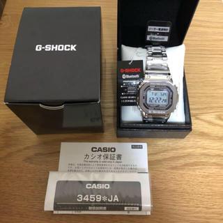 ジーショック(G-SHOCK)の【新品未使用】CASIO G-SHOCK GMW-B5000D-1JF(腕時計(デジタル))