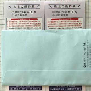 最新 東京テアトル株主優待 映画ご招待券20枚(その他)