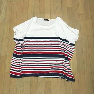 エムエフエディトリアル(m.f.editorial)のボーダー Tシャツ カットソー  m.f.editorial(Tシャツ(半袖/袖なし))