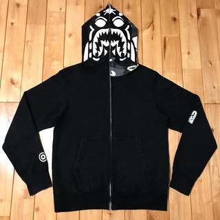アベイシングエイプ(A BATHING APE)の★蓄光★ city camo タイガーパーカー shark hoodie ape(パーカー)