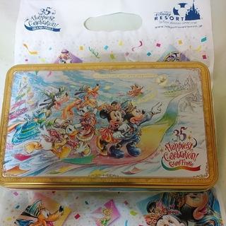 ディズニー(Disney)のTDR 35周年 グランドフィナーレ クッキー&クッキー缶(菓子/デザート)