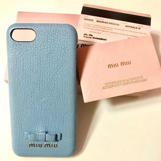 miumiu - miumiu iPhone7,8ケース