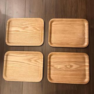 トレーウィローウッド4枚(テーブル用品)