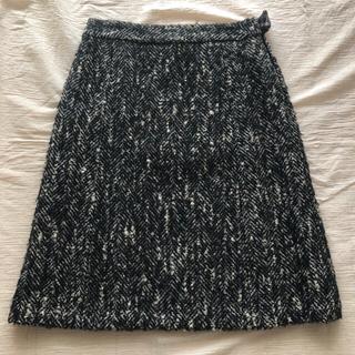 イエナ(IENA)のツィードスカート美品(ひざ丈スカート)