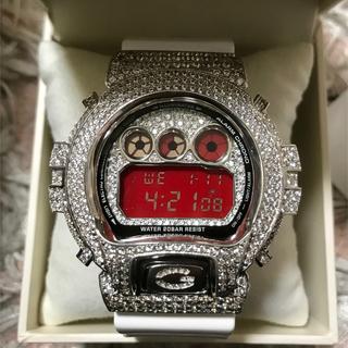 ジーショック(G-SHOCK)の⭐️Gショックカスタム シルバー925 美品 DW 6900  ⭐️(腕時計(デジタル))