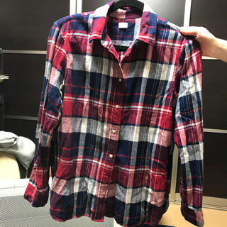 UNIQLO - 新品ユニクロチェックシャツ サイズM