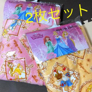 ディズニー(Disney)の☆ プリンセス ふわふわ 敷きパット ☆(敷パッド)