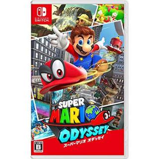 ニンテンドースイッチ(Nintendo Switch)のマリオ オデッセイ(家庭用ゲームソフト)