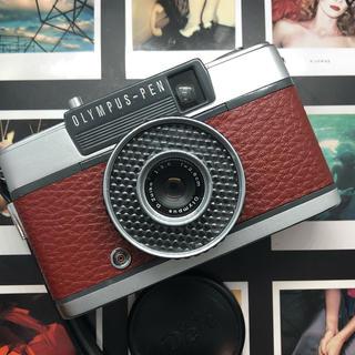 オリンパス(OLYMPUS)の【完動品】OLYMPUS  PEN EE フィルムカメラ【美品】(フィルムカメラ)