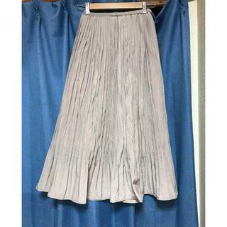 w closet プリーツスカート