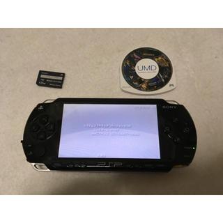 プレイステーションポータブル(PlayStation Portable)のPSP 1000 本体(携帯用ゲーム本体)