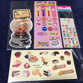 シール4枚セット💕 オールドアメリカン🇺🇸お菓子セット🍭(シール)
