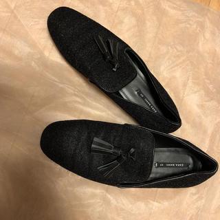 ザラ(ZARA)のZARA♡ラメローファー(ローファー/革靴)
