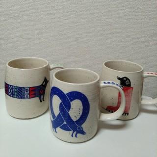 アンソロポロジー(Anthropologie)の【3個セット】アンソロポロジー マグカップ (グラス/カップ)