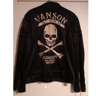 バンソン(VANSON)のVANSON バンソン ジャケット スカル(ナイロンジャケット)