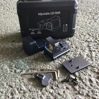 ミニダットサイト グロック ライフル スナイパー glock RMR レクティル(カスタムパーツ)