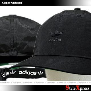 adidas - 新品 アディダス オリジナルス 黒 小ロゴ キャップ 後ろロゴ 説明必読