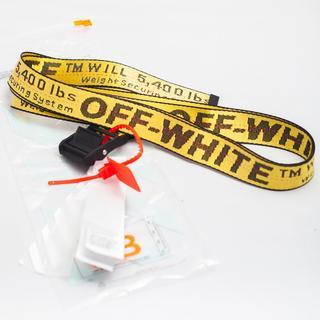 オフホワイト(OFF-WHITE)のOFF-WHITE INDUSTRIAL BELT オフホワイト ベルト(ベルト)