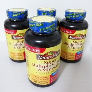 オオツカセイヤク(大塚製薬)のネイチャーメイド スーパーマルチビタミン ミネラル 4個(ビタミン)