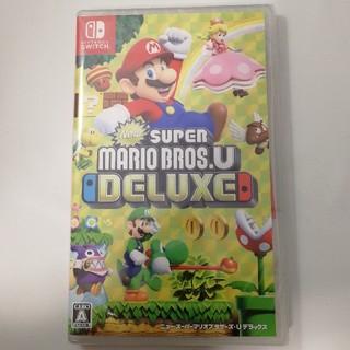 ニンテンドースイッチ(Nintendo Switch)の新品 ニュースーパーマリオブラザーズU デラックス 即発送(家庭用ゲームソフト)