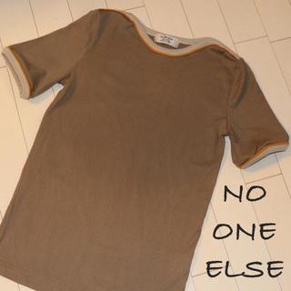 ノーワンエルス(no one else)のTシャツ レディース/サップ  ノーワンエルス(Tシャツ(半袖/袖なし))