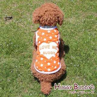 わんちゃんのお洋服*スタンダードタンクトップ*ロゴトップス*新品*オレンジ(犬)