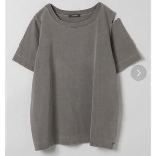 JEANASIS - カッティングTシャツ ダメージTシャツ カットソー ROKU