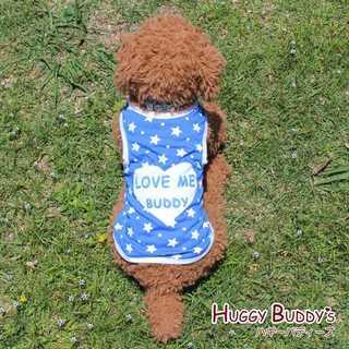 わんちゃんのお洋服*ロゴタンクトップ*ブルー*新品(犬)