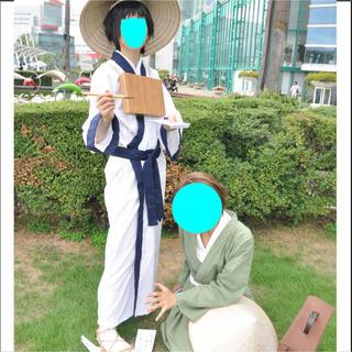 河合曽良 コスプレ ギャグマンガ日和 衣装 ウィッグ(衣装一式)