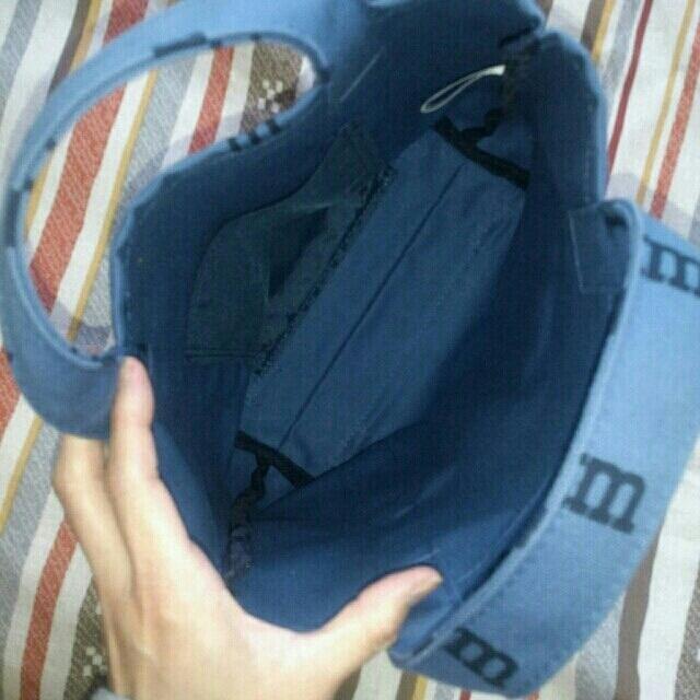 marimekko(マリメッコ)のマリメッコ ロゴマニア(ブルー) レディースのバッグ(ハンドバッグ)の商品写真