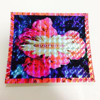 Supreme - 新品supreme 花柄ステッカー正規品 送料無料