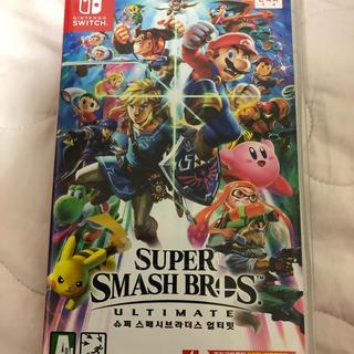 ニンテンドースイッチ(Nintendo Switch)の大乱闘スマッシュブラザーズ Switch(家庭用ゲームソフト)